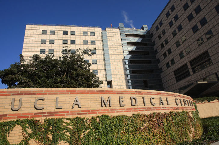 UCLA Medical Center in Westwood