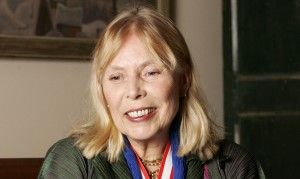 Singer-songwriter Joni Mitchell