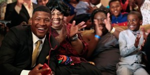 As expected, Famous Jameis Winston went first to Tampa Bay.
