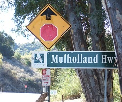Mulholland Highway Vehicle Incident