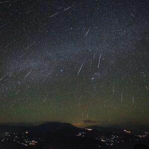 Image of Shooting Stars Provided By NASA