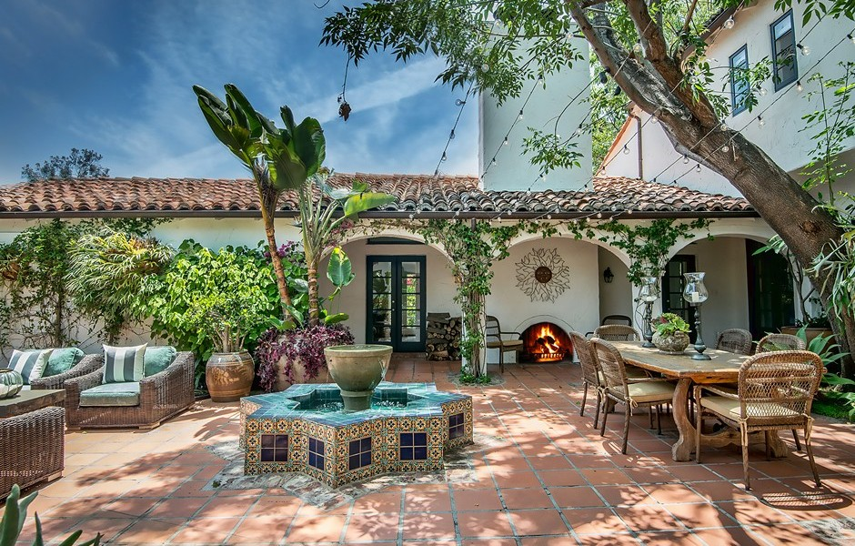 Chairman of United Talent Agency Jim Berkus listed his Benedict Canyon property at $5 million. Photo by The Agency.