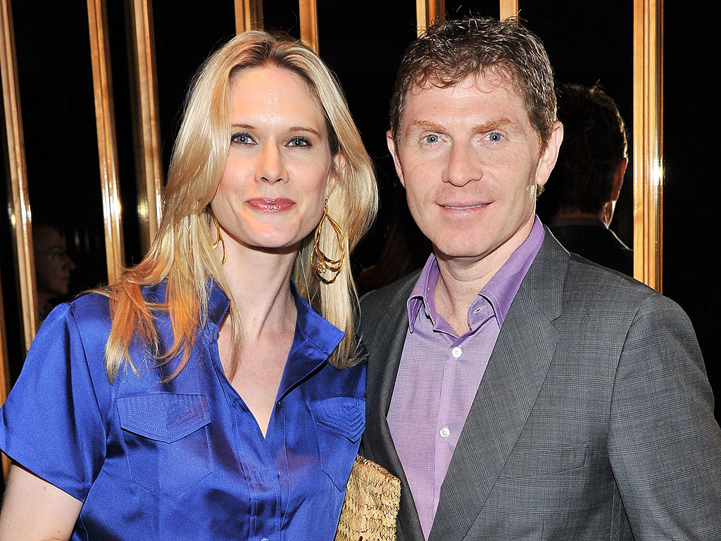 Bobby Flay and ex-wife, Stephanie March.