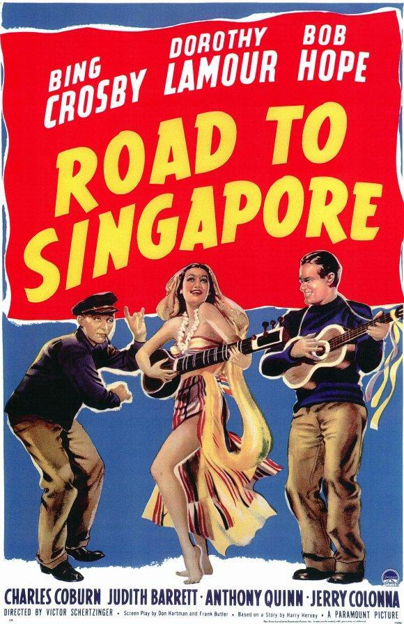 "Road To Singapore"" directed by Victor Schertzinger."
