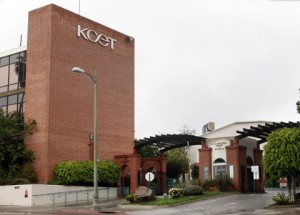 The former KCET building atop which the Church of Scientology plans to hang their sign.