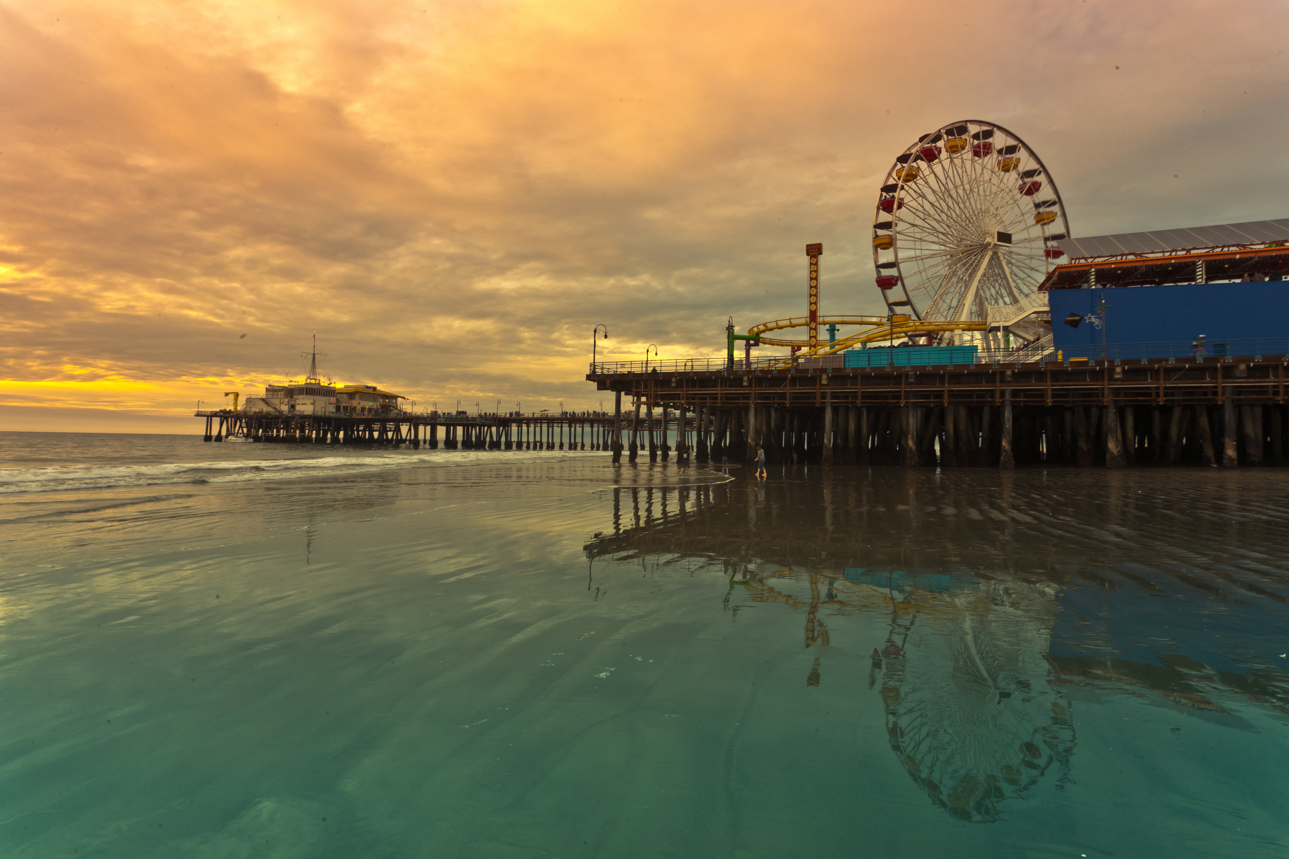 Santa Monica Pier's Pacific Park was named best amusement park in California