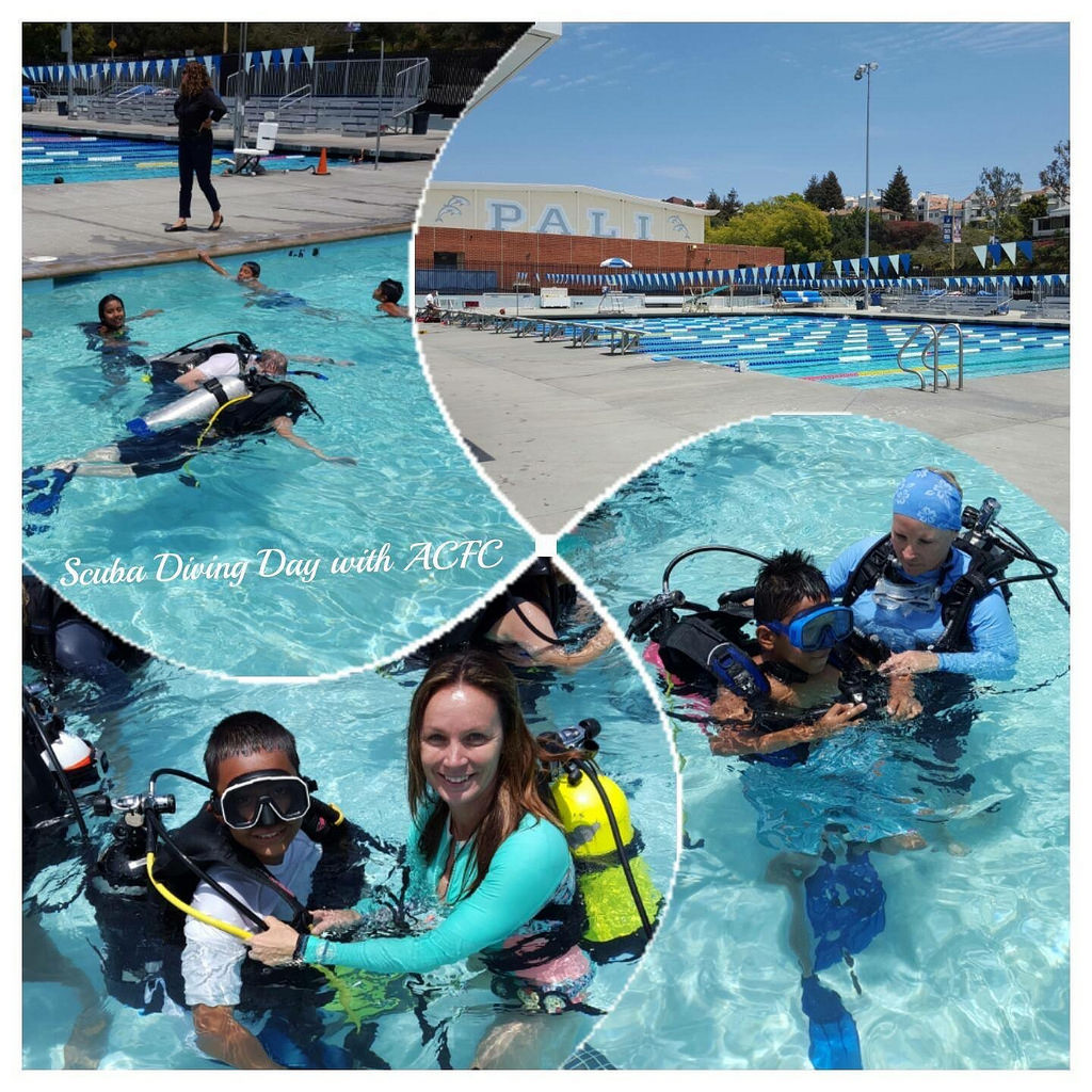 Scuba Diving with ACFC. Photo Courtesy ACFC