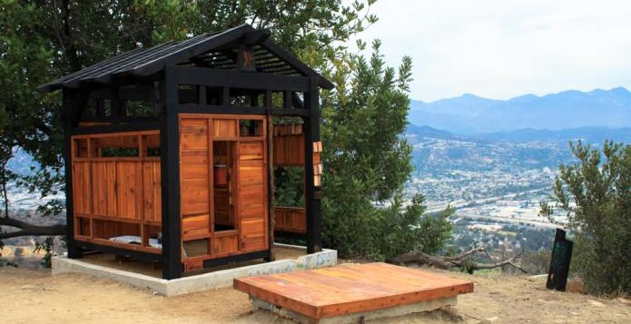 The Griffith Park Tea House at Mt Bell. Photo Courtesy modernhiker.com