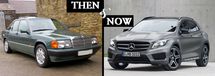 Mercedes Benz Compact Sedans Then And Now