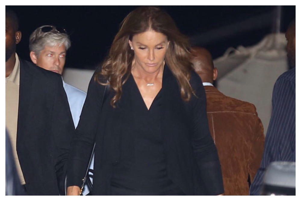 Caitlyn Jenner dresses up for a dinner in Malibu with friends and Naomi Watts