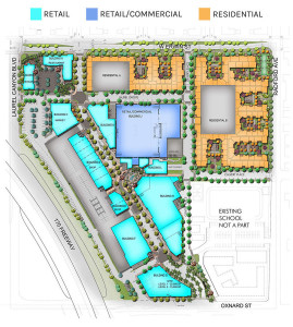 The official site plan of NoHo West.