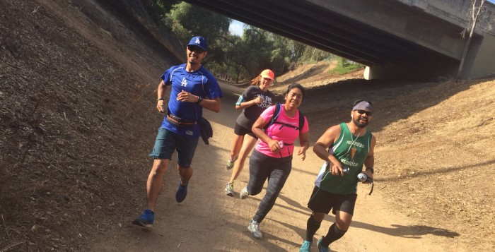 Photo from the July 12 UnitedLA Group Run.