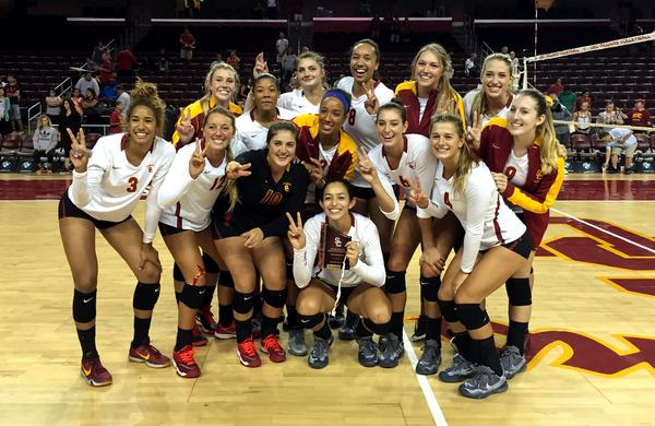 Usc beats byu in volleyball canyon news