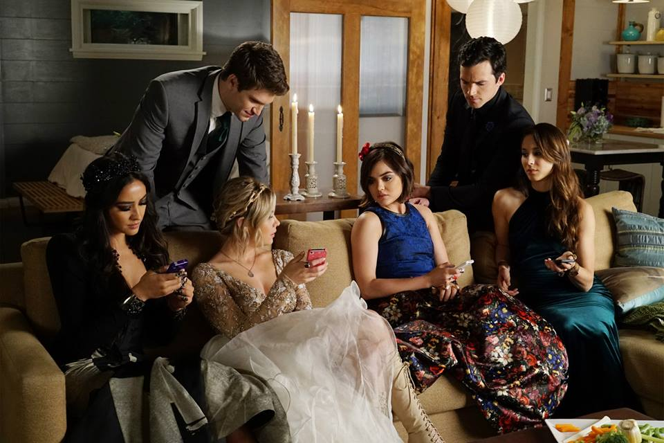 The liars discover once again that Ali has gone rogue. Photo courtesy of ABC Family/Eric McCandless.