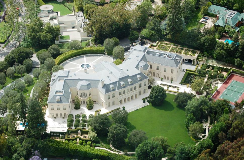 Madonna's late Beverly Hills estate on Sunset Boulevard