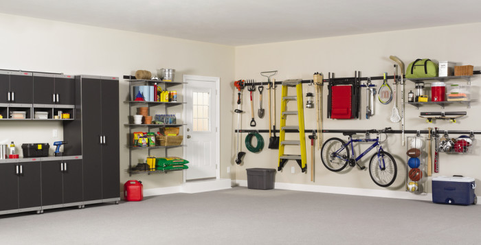 Keeping things organized is no easy task, but I believe that organization prevents chaos. Photo by Rubbermaid.