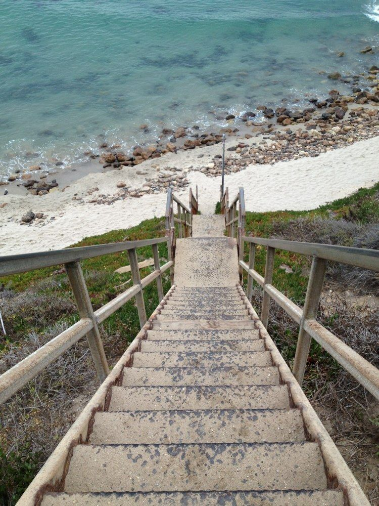 The Point Dume State Beach staircase in Point Dume State Park has long been in need of repair