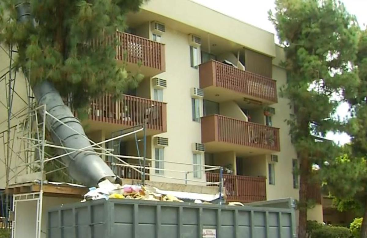 senior apartments evacuated in weho canyon news. Black Bedroom Furniture Sets. Home Design Ideas