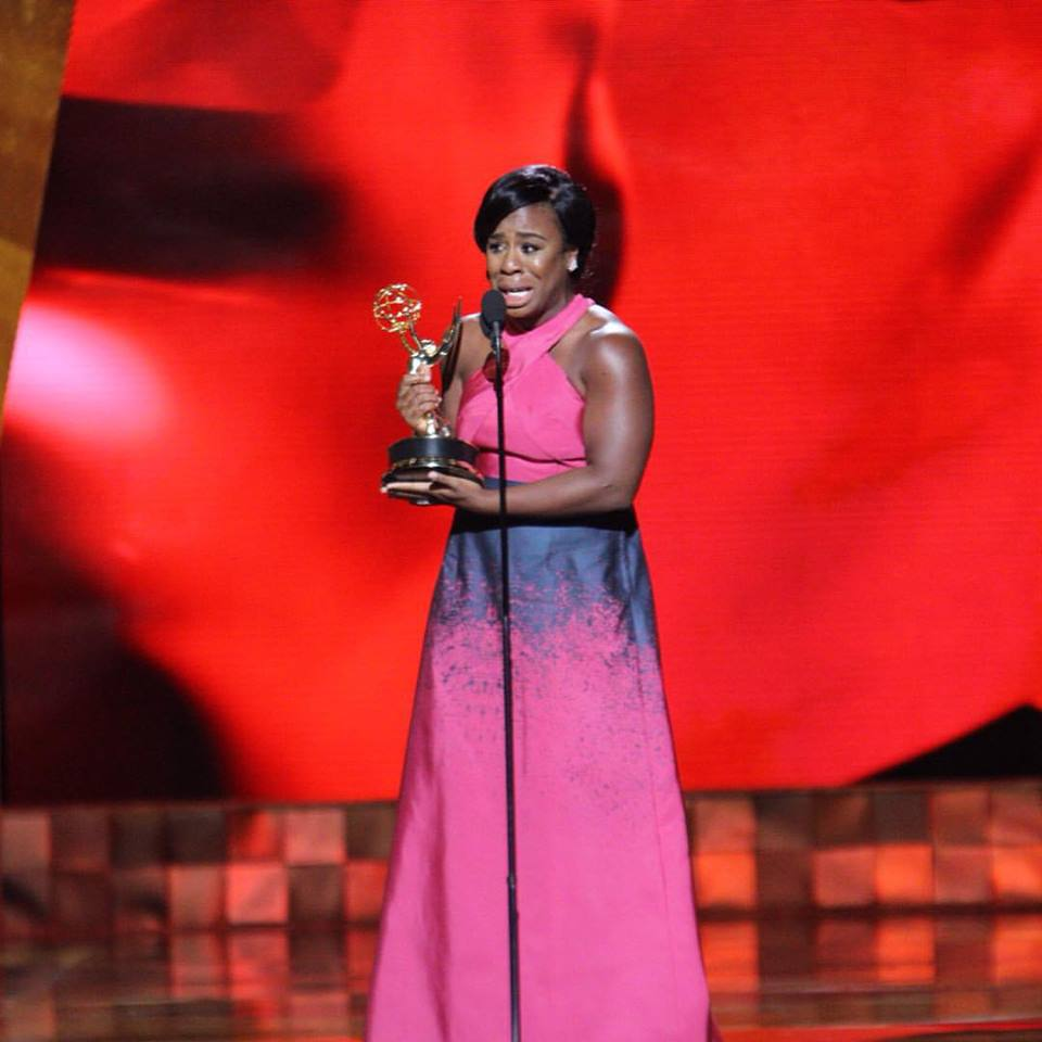 """Uzo Aduba won the Emmy for Outstanding Supporting Actress for her work on """"Orange is the New Black."""""""