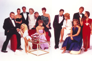 """Collins' most successful novel """"Hollywood Wives"""" also became one of the most successful TV mini-series of the 80's."""
