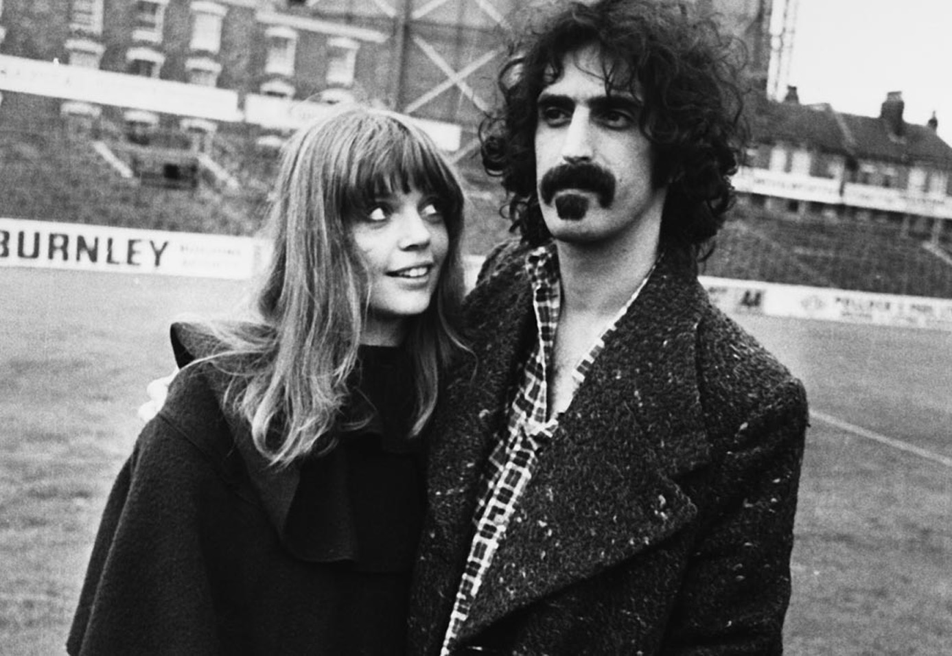 Frank and Gail Zappa.