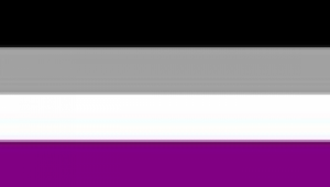 The asexual flag.