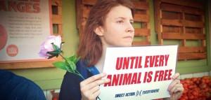 Desiree Mehrez, an animal rights activist, is Abeug's business partner.
