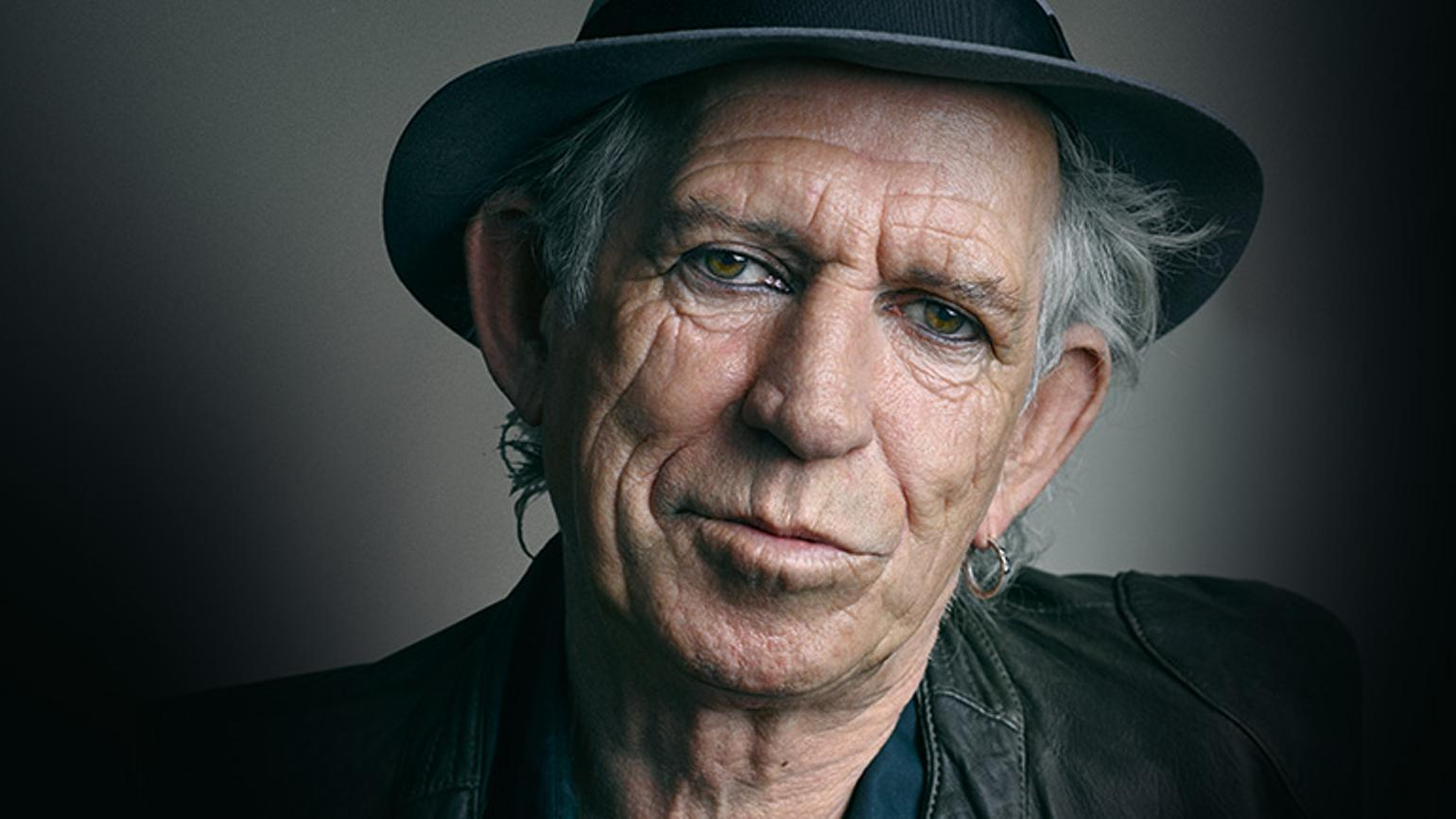 Keith Richards is only 2 1/2 years older than D...