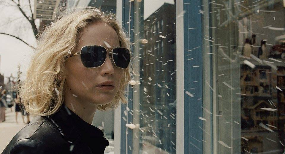 "Jennifer Lawrence is nominated for Best Actress for her work in ""Joy."""