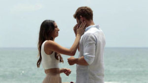 """Nick says goodbye to Jen in the season three """"Bachelor In Paradise"""" finale."""