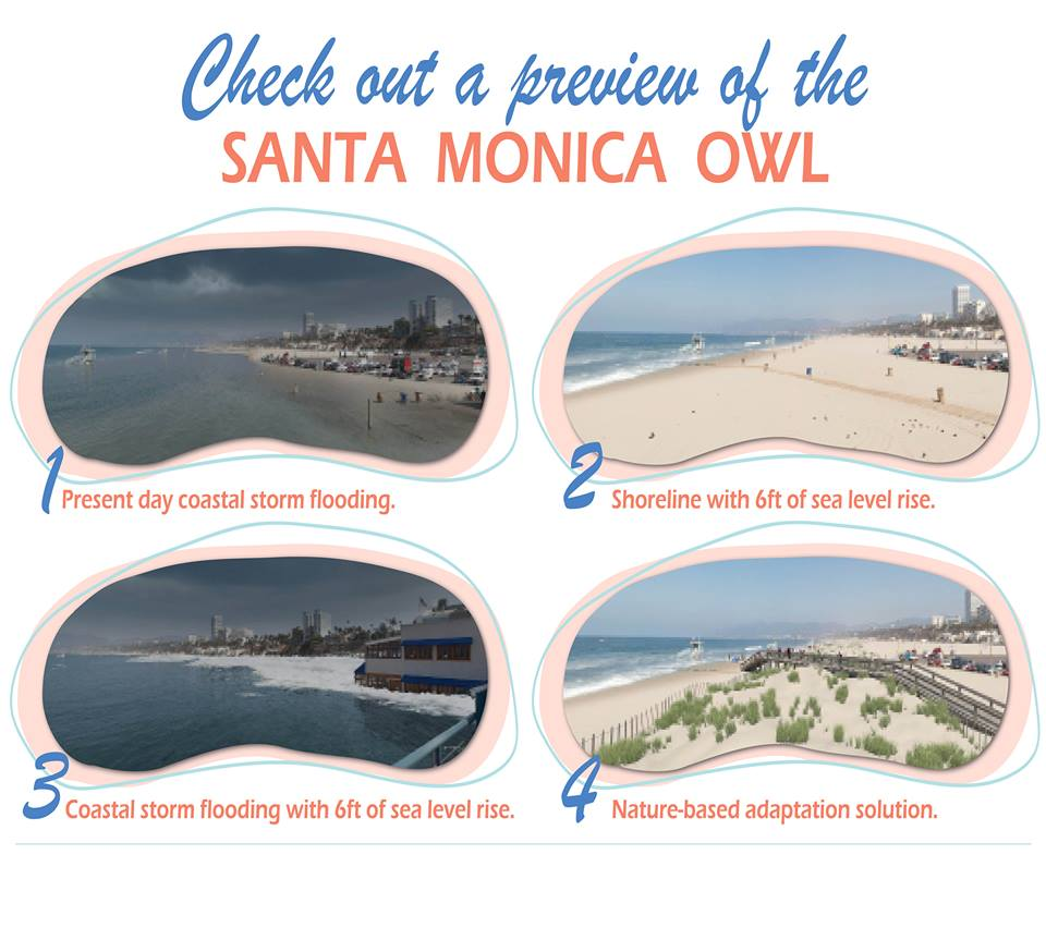 Santa Monica Pier Virtual Reality Viewfinder