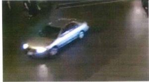 Suspect's vehicle of the Santa Monica collision.