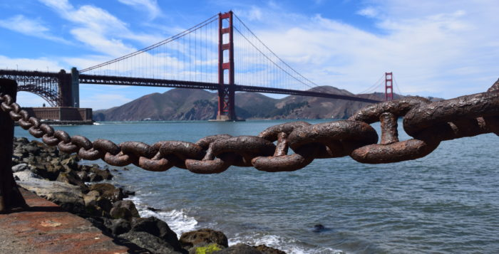 Up Close With San Francisco The Golden Gate Bridge