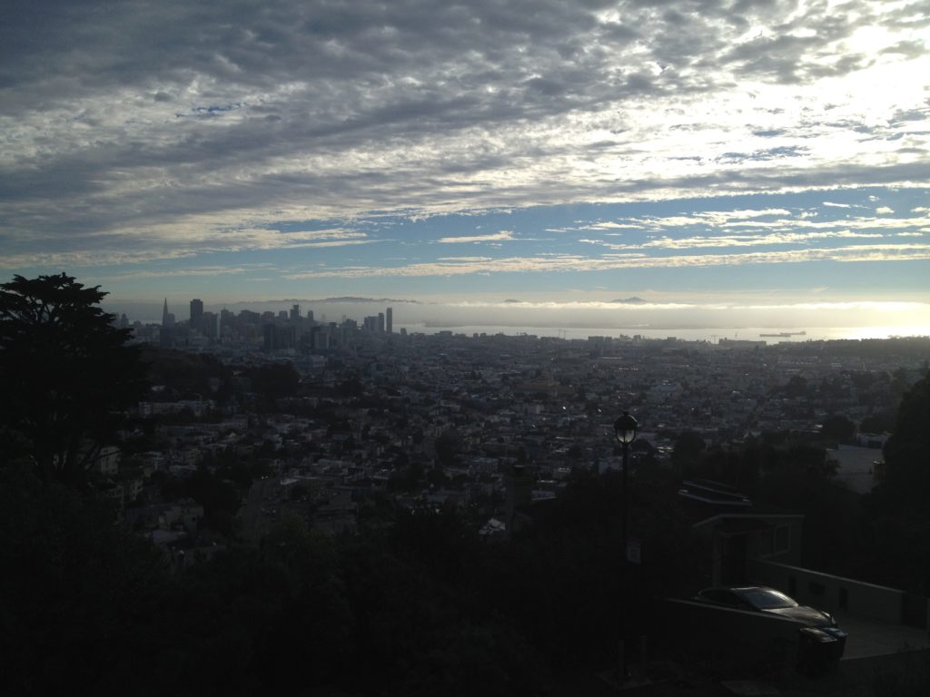 San Francisco Twin Peaks Sightseeing