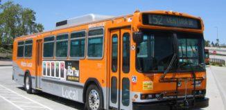 Naked Man Metro Bus West Hollywood