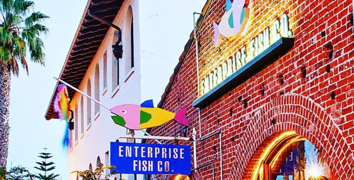 Santa monica archives canyon news for Enterprise fish co santa monica