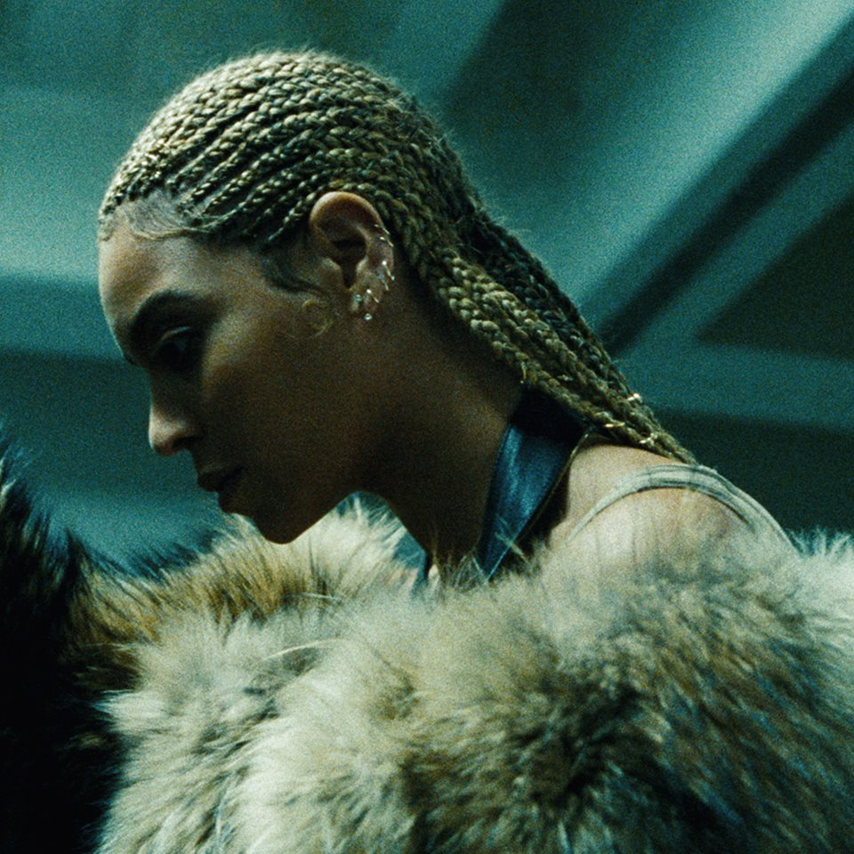 "Beyonce picked up a Grammy for Best Urban Contemporary Album for ""Lemonade."""
