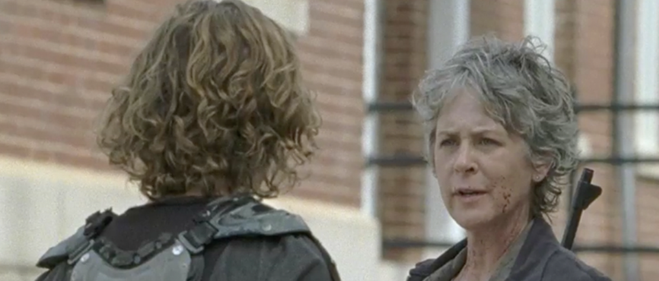 Carol (Melissa McBride) learned the harsh truth about Negan, Alexandria and The Saviors in this week's episode.