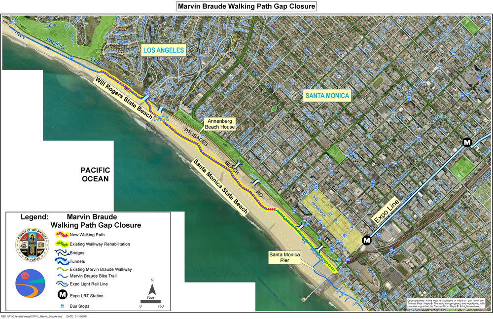 Santa Monica Seeks Public Input To Improve Beach Trail Canyon News