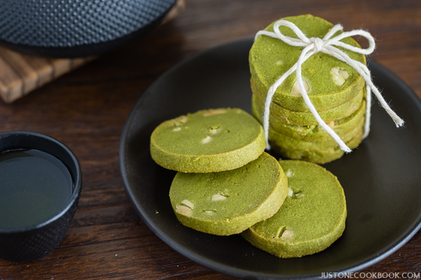 Green Tea Cookies with White Chocolate, from Just One Cookbook.