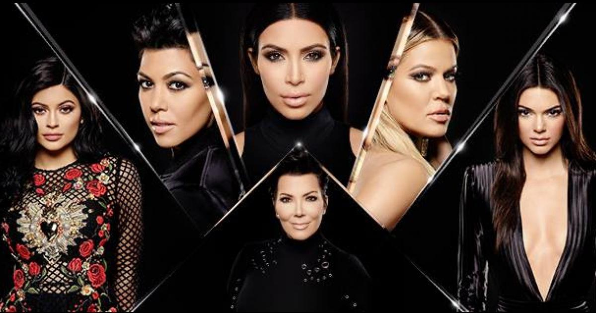 Keeping Up With The Kardashians' Kim Kardashian, Khloe Kardashian, Kourtney Kardashian, Kendall Jenner, Kylie Jenner and Kris Jenner