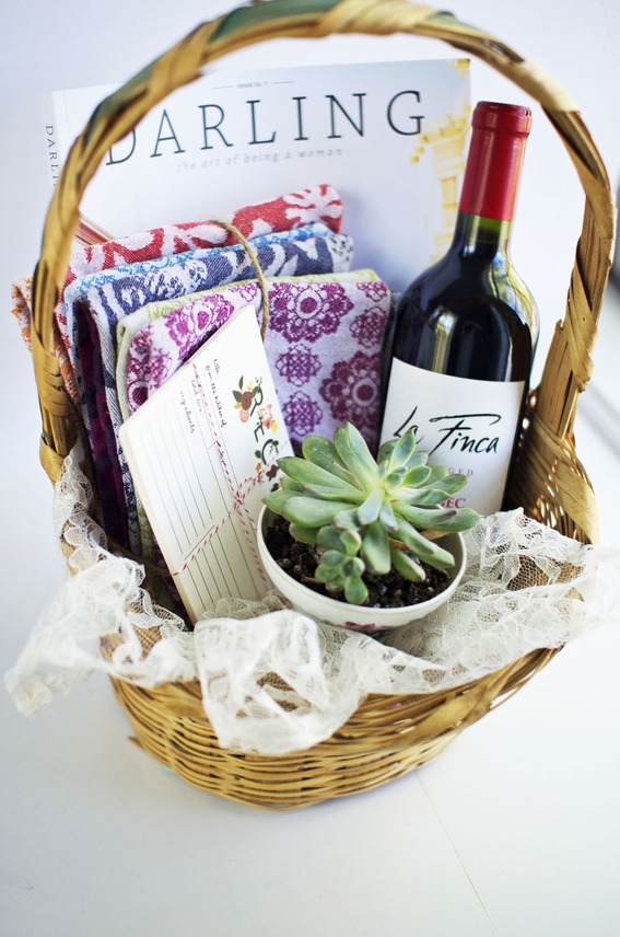 Gift Basket, from Curbly
