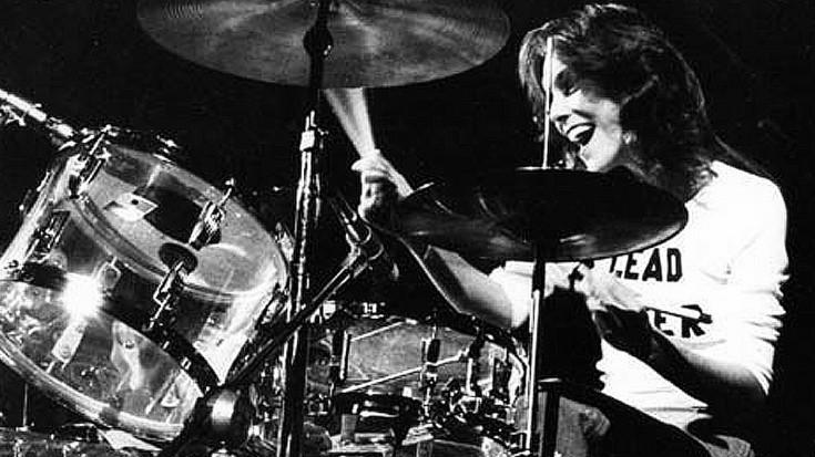 Karen Carpenter on Drums.