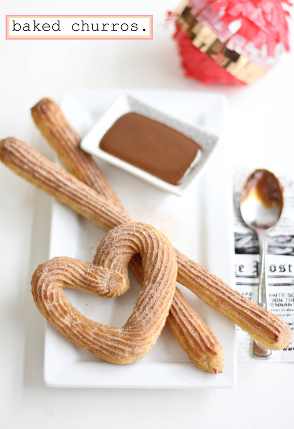 Baked Churros, from Sprinkle Bakes