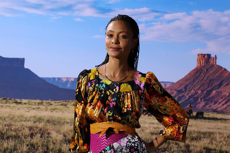 "Thandie Newton is nominated for Supporting Actress in a Drama series for her work on the HBO series ""Westworld."""