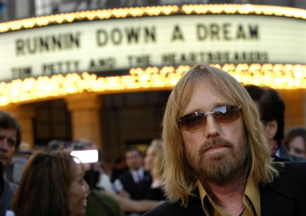 Tom Petty, October 20th 1950- October 2nd 2017