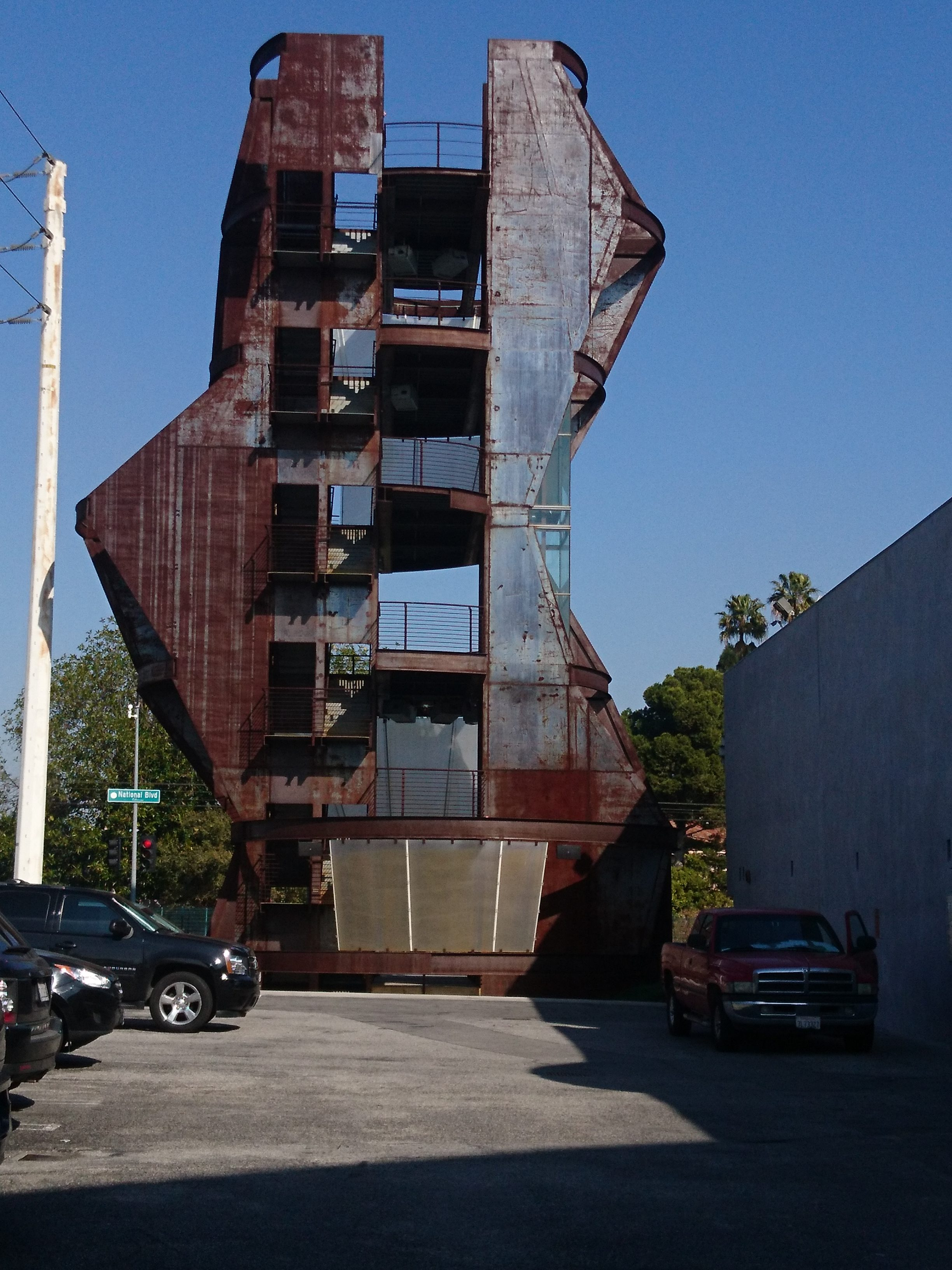 deconstructivism architecture in our backyard