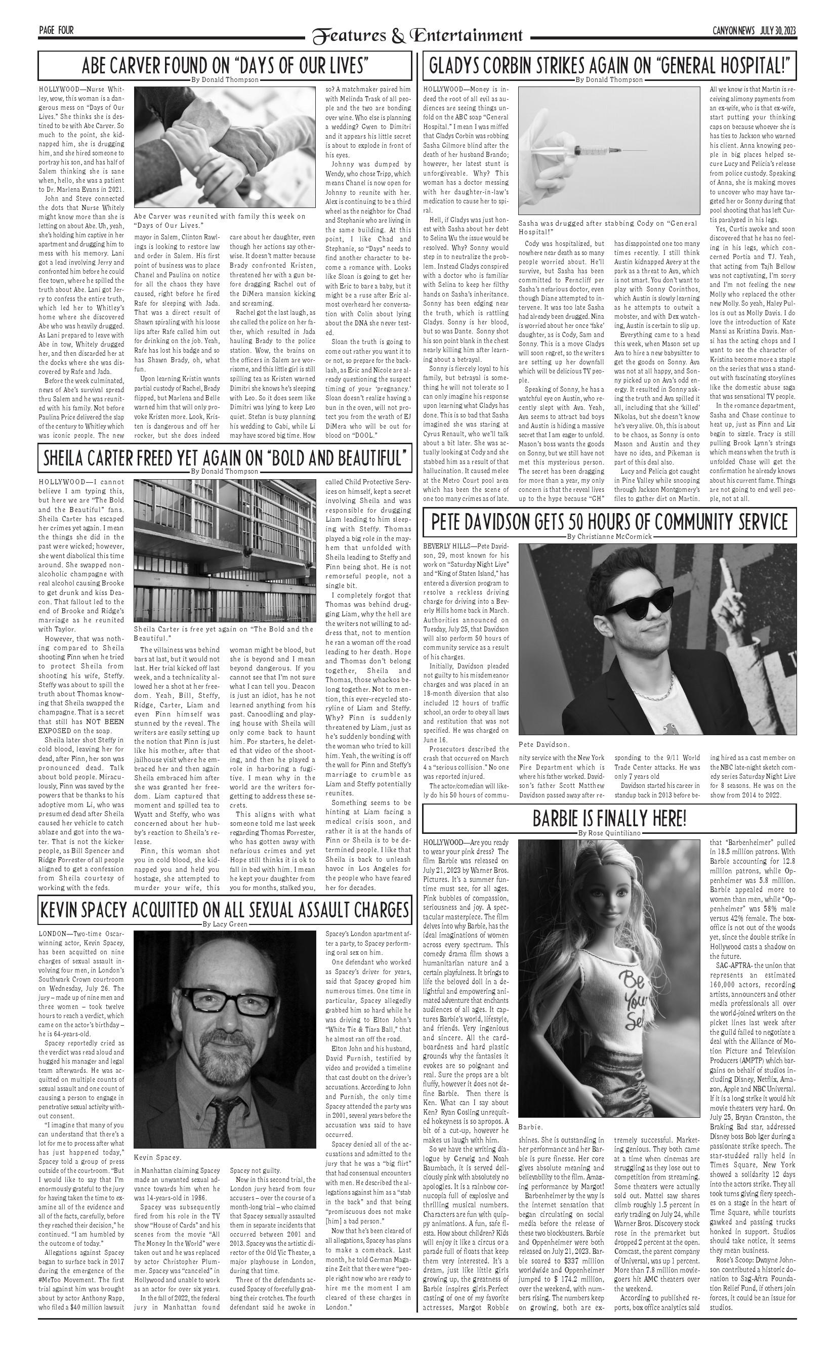 Canyon News