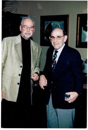 Salvatore Scorza and Yogi Berra.