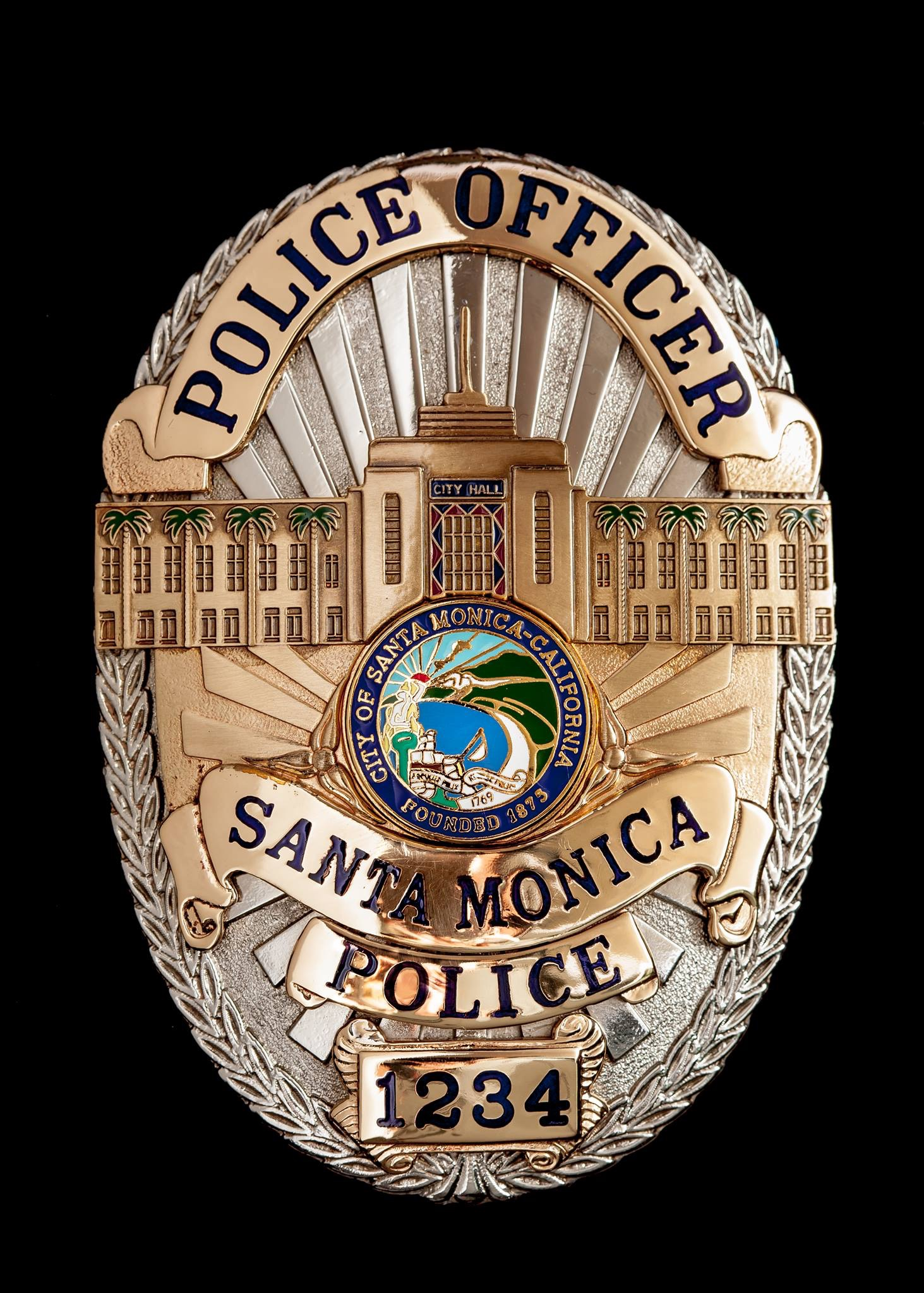 Santa Monica Police officers discovered the suspect had provided them a false identity in an attempt to avoid a probation violation.
